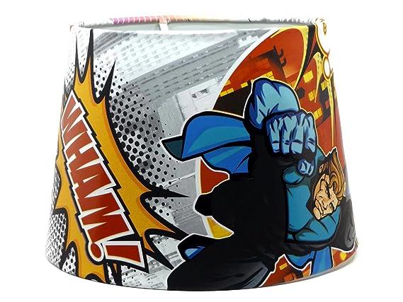 Superhero Comic pantalla o para lámpara de techo lámparas ...