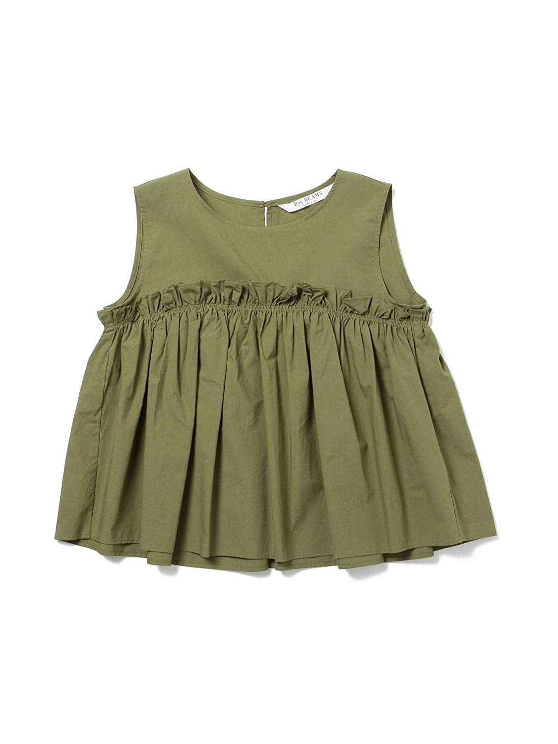 Amazon.co.jp: (レイビームス) Ray BEAMS ヨークギャザーキリカエNS ONE SIZE D.OLIVE: 服&ファッション小物