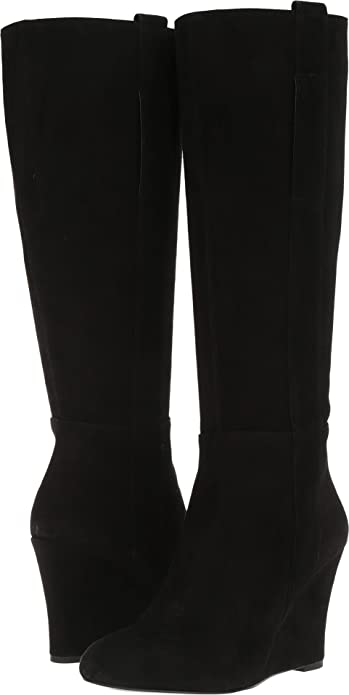 8c6bc1e4dcdf Amazon.com   Nine West Women's Orsella Black Suede Tall Boot Size US 11 M    Mid-Calf