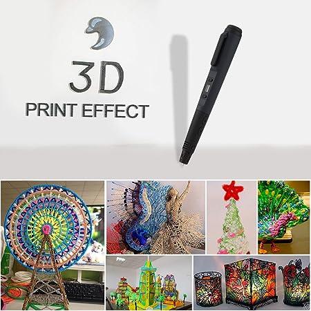 LESHP - 4ªGeneración Ligero Impresora Pluma Lapiz 3D para dibujos ...