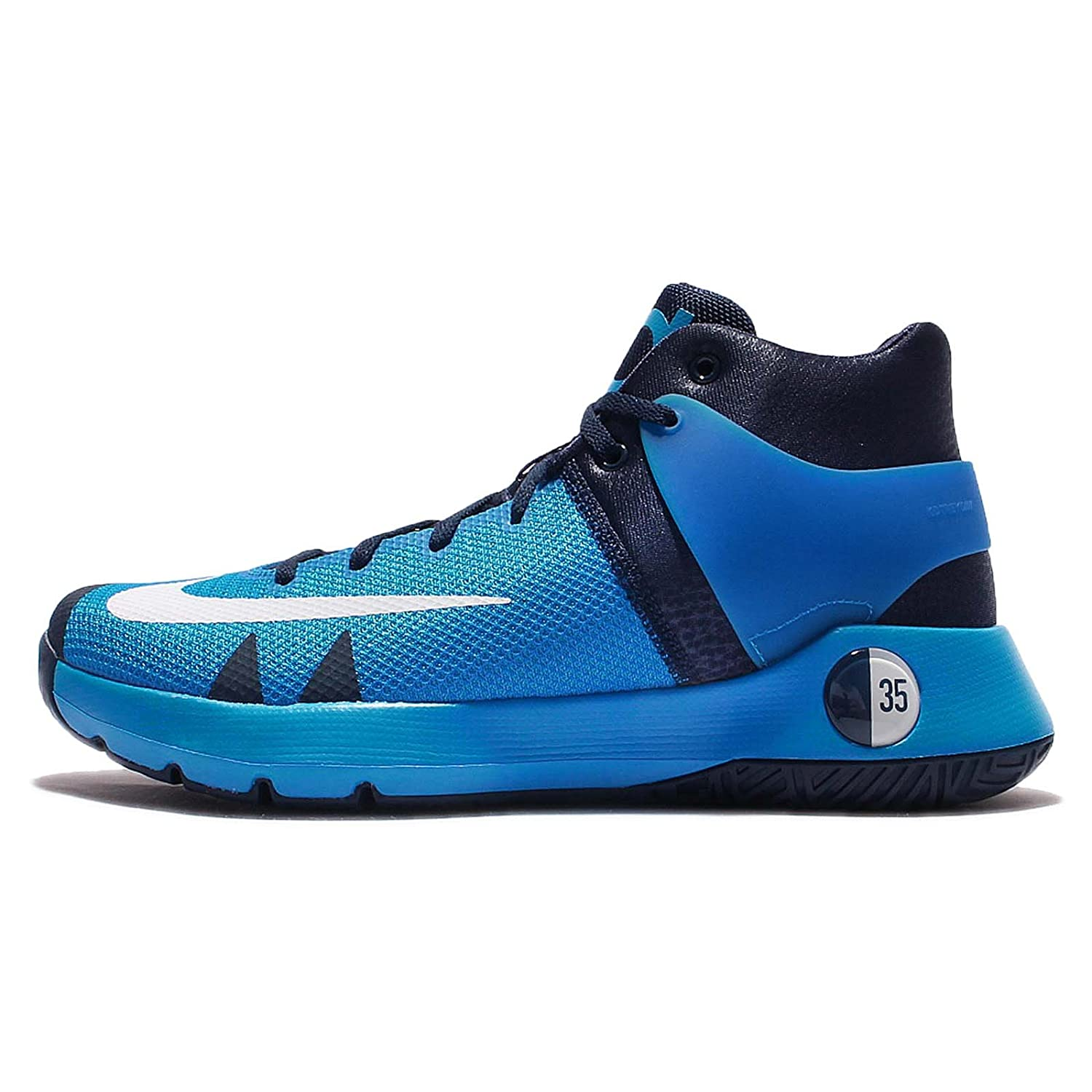 designer fashion 2e8d5 ae180 Amazon.com   Nike Men s KD Trey 5 IV EP, PHOTO BLUE BRIGHT CITRUS, 13 M US    Shoes