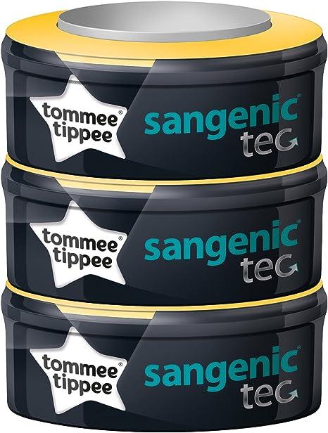 Tommee Tippee Sangenic Tec - Recambios para el contenedor (pack de 3): Amazon.es: Bebé