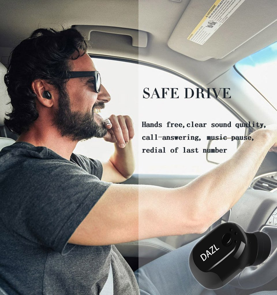 Bluetooth Headphone Mini Car Headset Magnetic Charging 41 Handsfree Headphones Earbud L1 Sj0048 Wireless Invisible In Ear Earbuds Mic Hands Free Calls Sports Earphone With 6pcs Tips