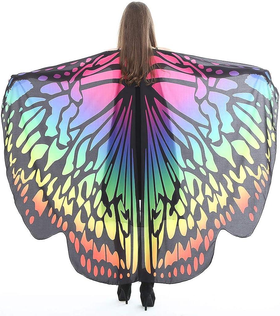 Butterfly Wings Shawl Women...