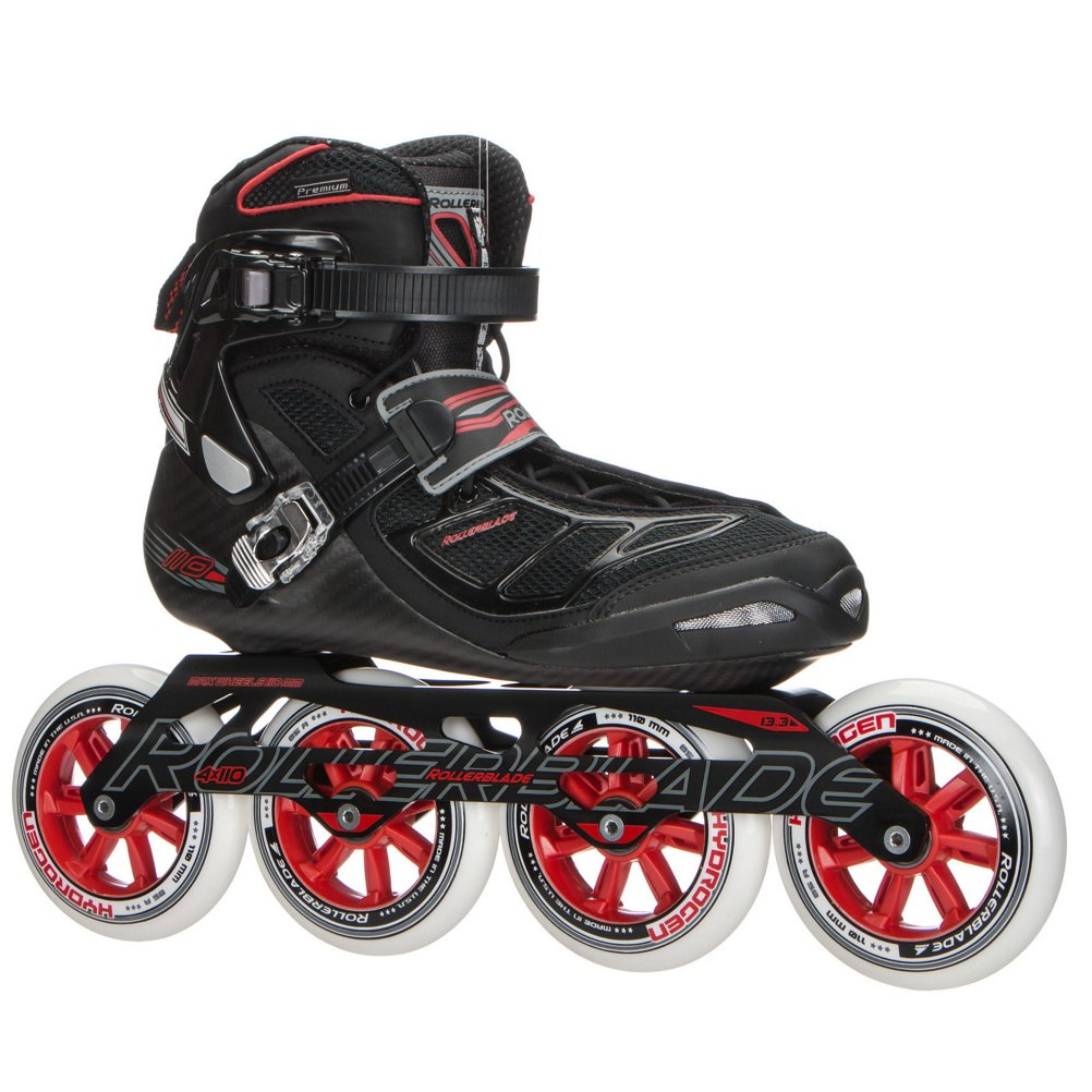Rollerblade 2015 Tempest 110c Premium Fitness Race Powerblade Pro Boot Only 110 Inline Skates Mens