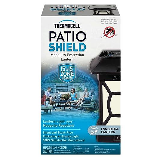 Amazon.com: Thermacell MR 9W Patio Shield Cambridge Mosquito Repeller Plus  Lantern: Sports U0026 Outdoors