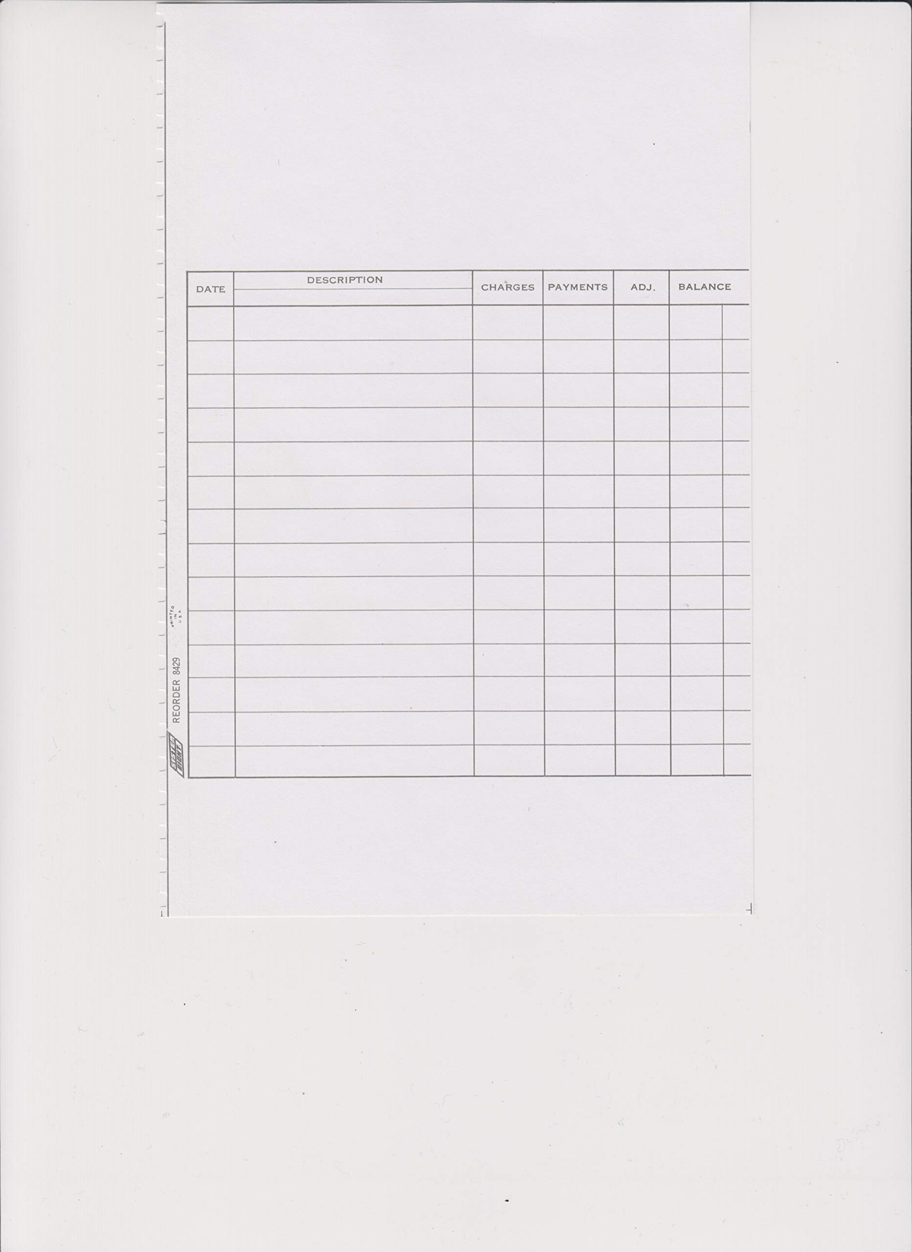 Plain Photocopy Ledger (200) by MyLaserChecks (Image #1)
