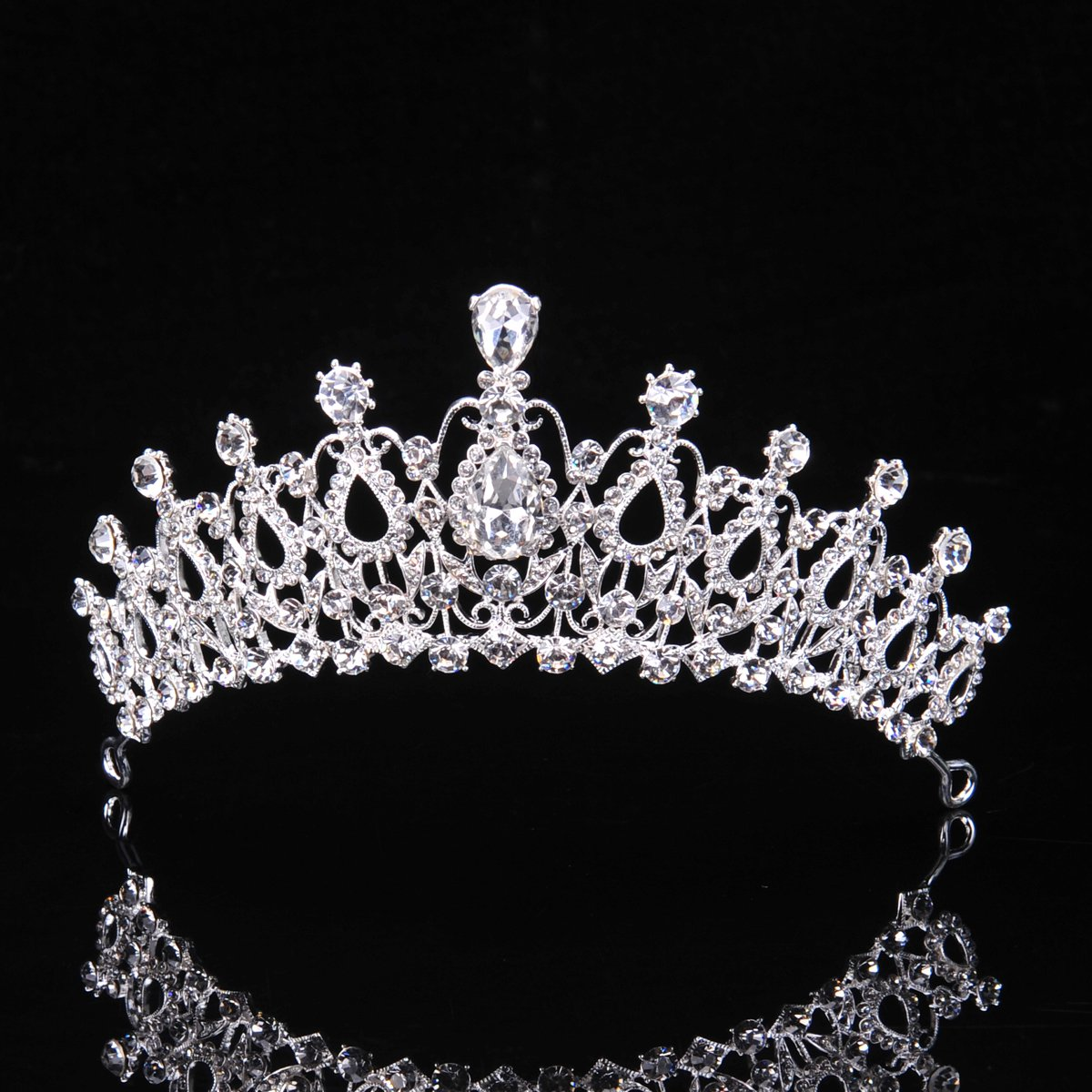 Amazon.com : Royal Bridal Pageant Rhinestone Crystal Prom