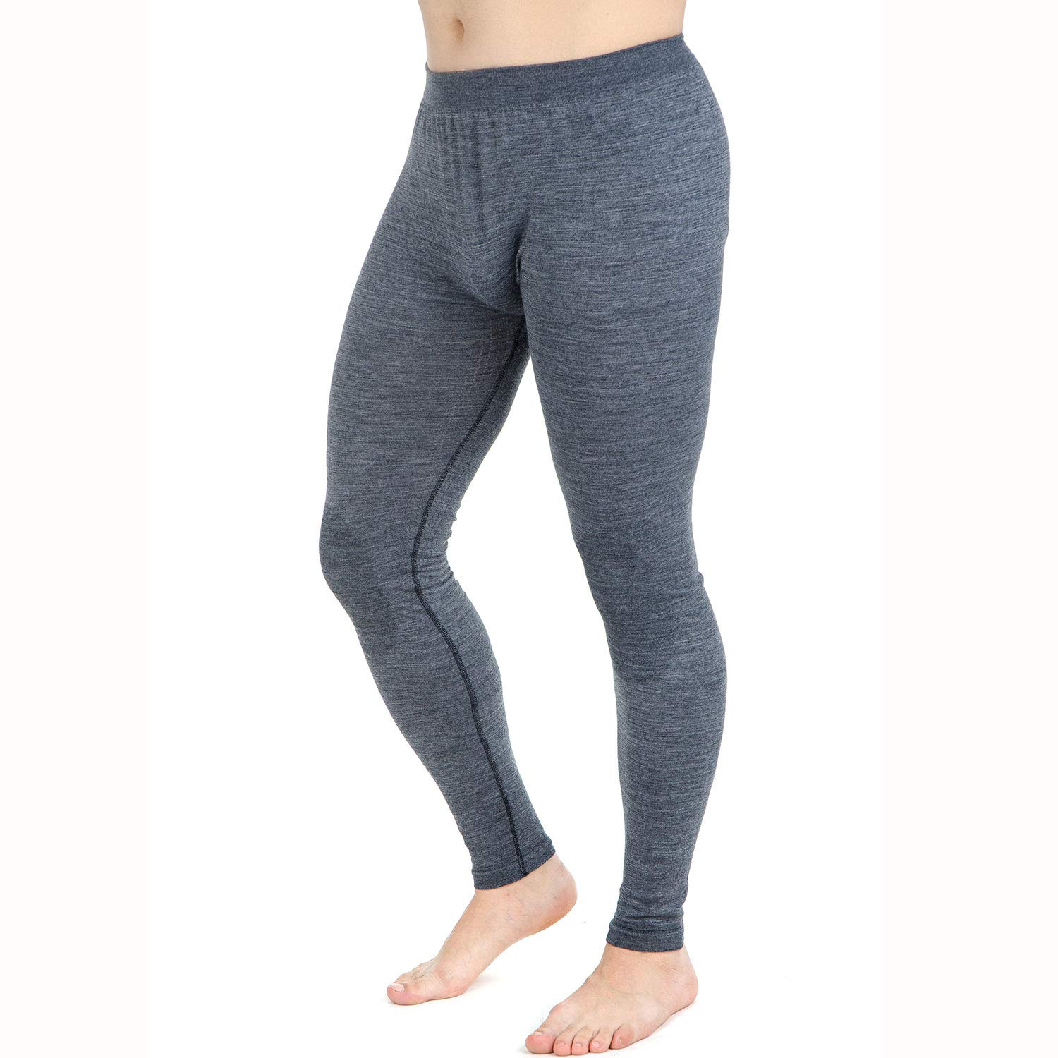 c5eaa16e2b8b Amazon.com: Wool Skiing Tights – Thermal Lightweight Compression Leggings  Base Layer – Warm Ski Underwear: Clothing