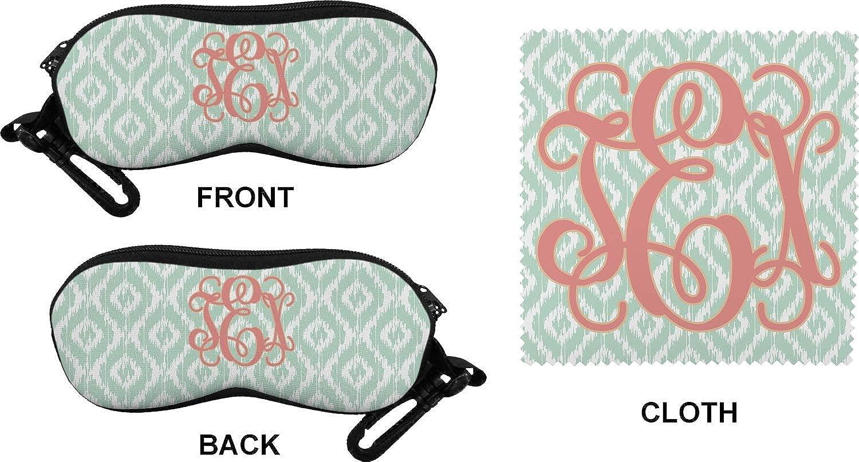 Personalized Monogram Eyeglass Case /& Cloth