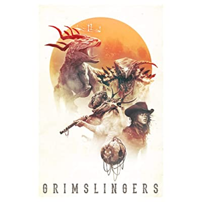GreenBrier Games Grimslingers 3rd Edition Board Games: Toys & Games [5Bkhe0307220]