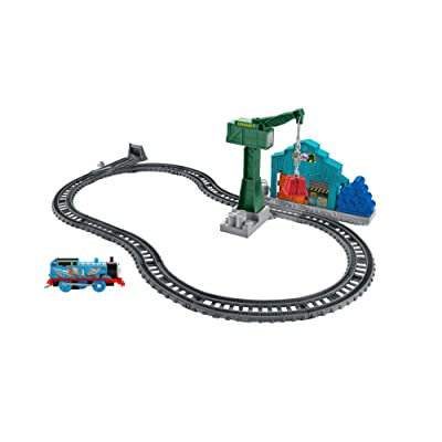 Fisher-Price Thomas & Friends TrackMaster, Demolition at the Docks Set: Toys & Games