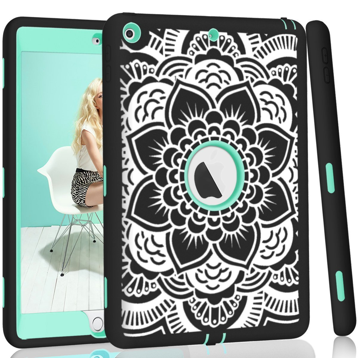 official photos 11c2d a781e Details about Otterbox Case Protector 5/6th Generation iPad 9.7 Shield with  Stand Shockproof