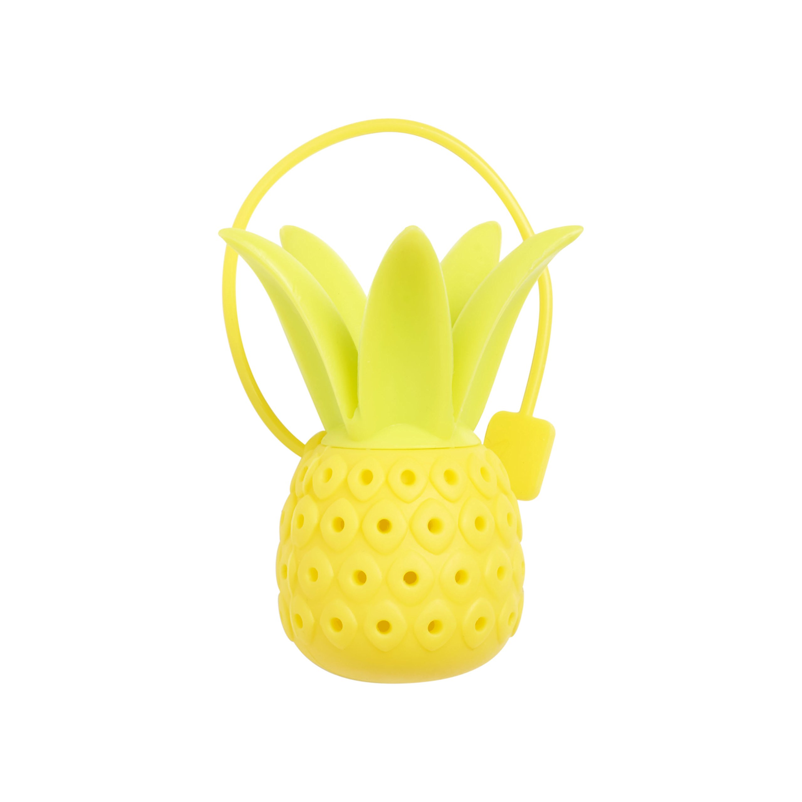 nod products Perky Pineapple Silicone Tea Infuser