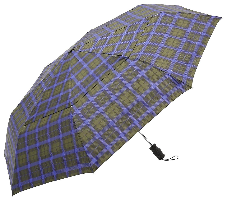 トーツ (totes) 自動開閉 折り畳み傘 Vented Canopy 三つ折り69cm B66(グリーンチェック) B01BHU6Z32 チェック(グリーン) チェック(グリーン)