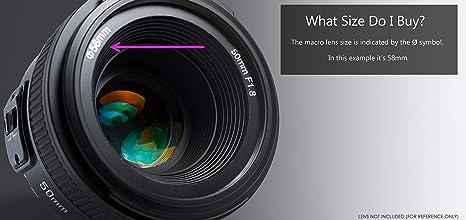 Macro 55mm 10x High Definition 2 Element Close-Up Lens for Pentax K10D