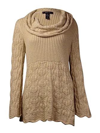 23cb792a8a8 Style   Co. Women s Babydoll Cowl Neck Sweater (L