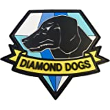 Diamond Dogs Metal Gear Solid Big Boss Snake PVC Gomme 3D Touch Fastener Écusson Patch