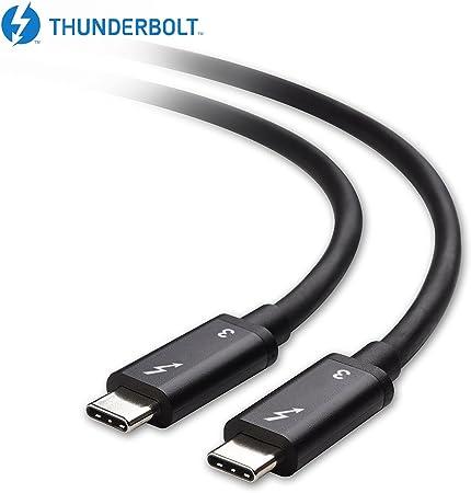 Intel Thunderbolt 3 Zertifiziert Mantiz 40 Gbit S Thunderbolt 3 Kabel In Schwarz Unterstützen 100 W Ladekabel 6 6 Füße Für Macbook Pro Und Andere Nicht Kompatibel Mit Usb C Anschlüsse Ohne Die Thunderbolt Logo