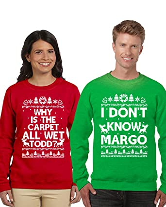 Couples Christmas Sweaters.Raxo Christmas Couples Sweaters Todd Margo Sweatshirt Margo