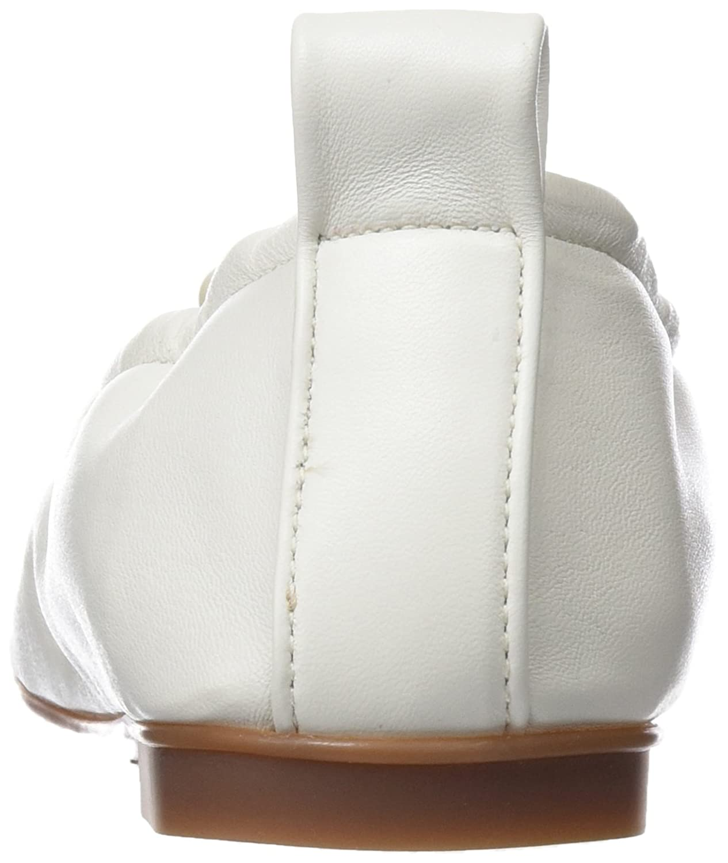 Sabrinas Damen (Weiß) Musa Geschlossene Ballerinas Elfenbein (Weiß) Damen 685456
