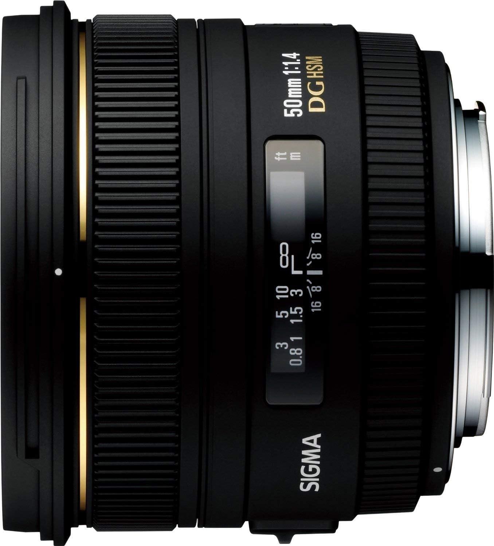 Sigma 50mm F 1 4 Ex Dg Hsm Lens For Canon Digital Slr Cameras International Version No Warranty Camera Photo