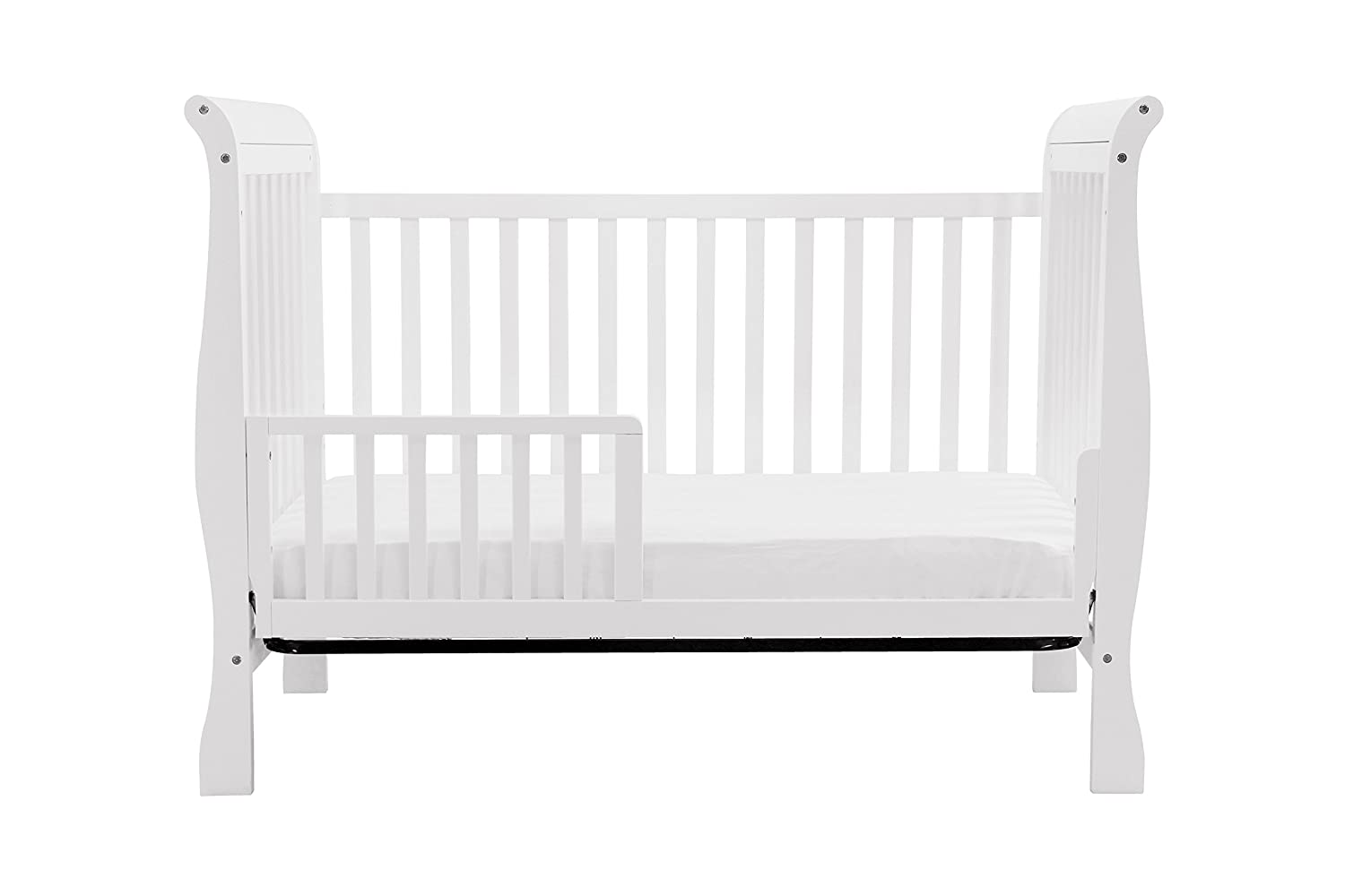 Contemporary white wooden jenny lind crib for your baby to sleep - Contemporary White Wooden Jenny Lind Crib For Your Baby To Sleep 45