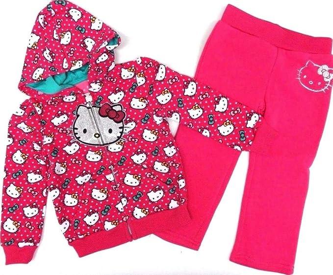 Hello Kitty 80/86 - Conjunto de Sudadera y pantalón de chándal ...