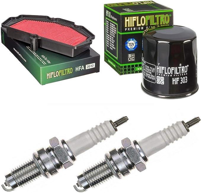 pamoto Filtro de aire Filtro de aceite Bujías KLE 650 E Versys ...