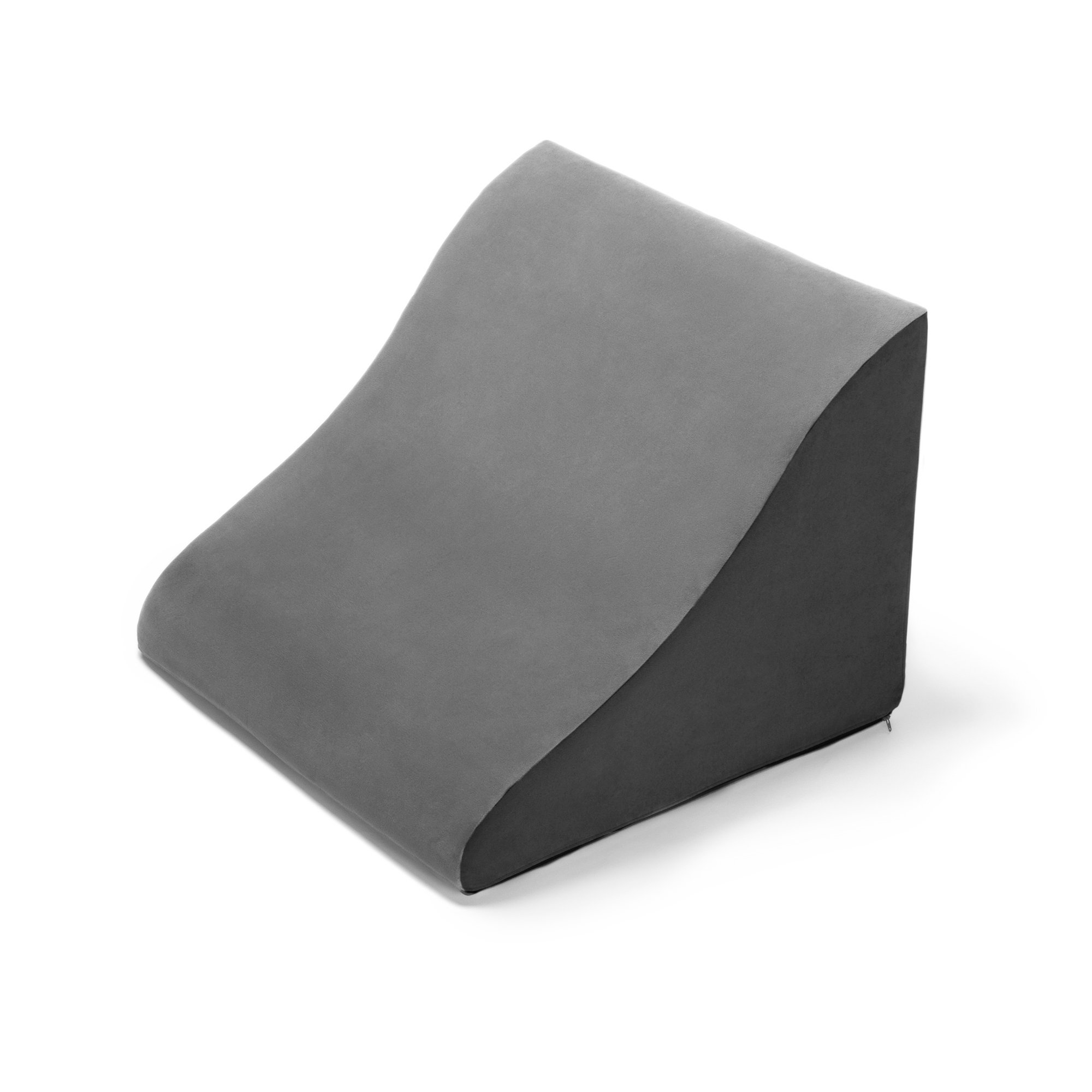 Avana Berkie Back Rest Memory Foam Back & Lumbar Pillow, Grey/Black