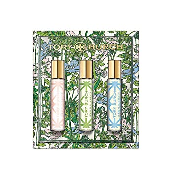 Amazon Com Tory Burch 3 Piece Rollerball Parfum Spray Set Jolie