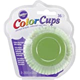 Wilton ColorCup Standard Baking Cups, 36-Pack, Green Ombre