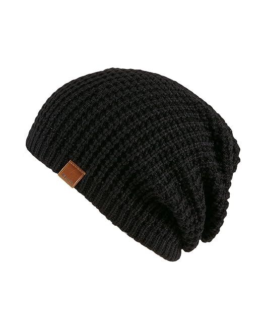 Bench Herren Ohrenschützer Mütze Haciender schwarz (Black) One Size ... a5cf23835f