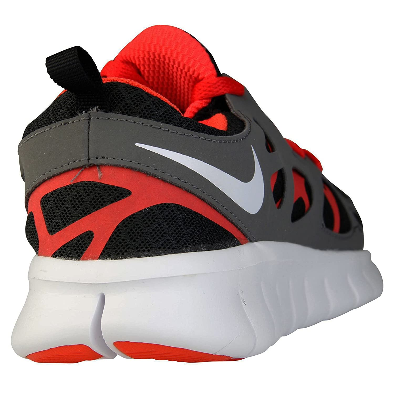Nike New Free Run 2 GS Black Multi Kids Trainers 4Y US