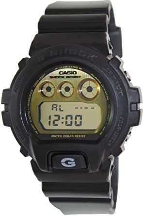 Casio G-Shock Gold Dial Mens Quartz Watch - DW6900PL-1