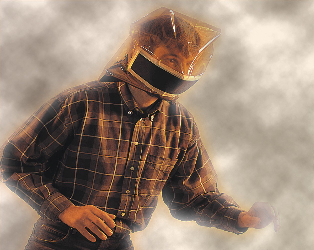 Pocket Smoke Mask for Fire Escape (4) by First Aid Global (Image #2)