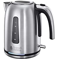 Russell Hobbs RHK302, Velocity Kettle, Our Fastest 2.4kW Kettle, 1.7L Capacity, Silver/Stainless