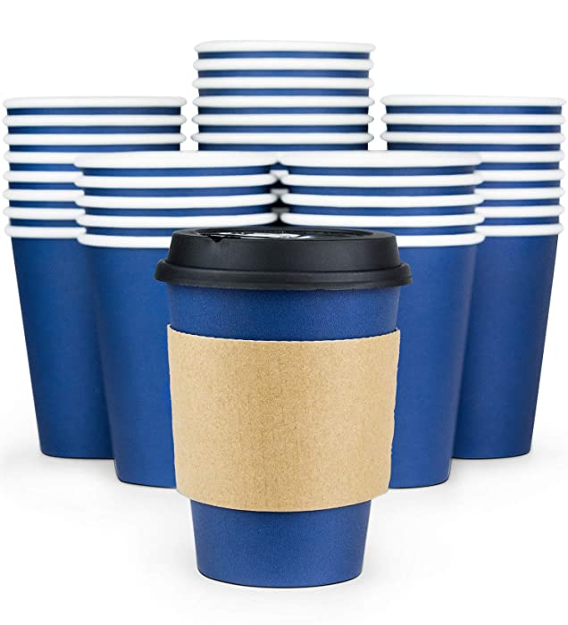 Top 10 Navy Hot Beverage Disposable Cups