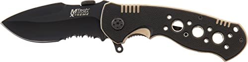 MTECH USA Xtreme MX-8041 Tactical Folding Knife 4.5-Inch Closed