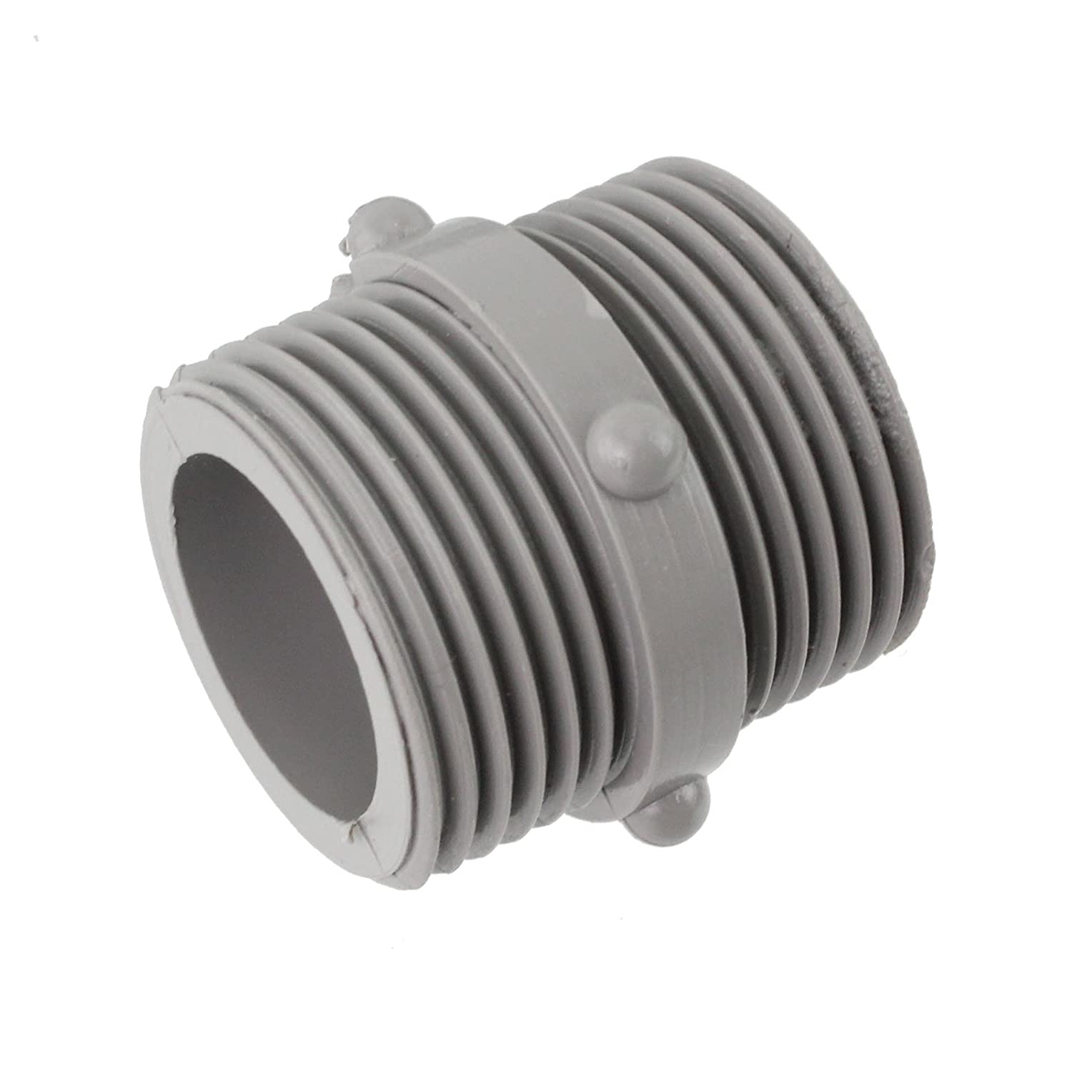 SPARES2GO Straight End Cold Water Fill Inlet Hose Extension for Essentials Dishwasher 2.5M