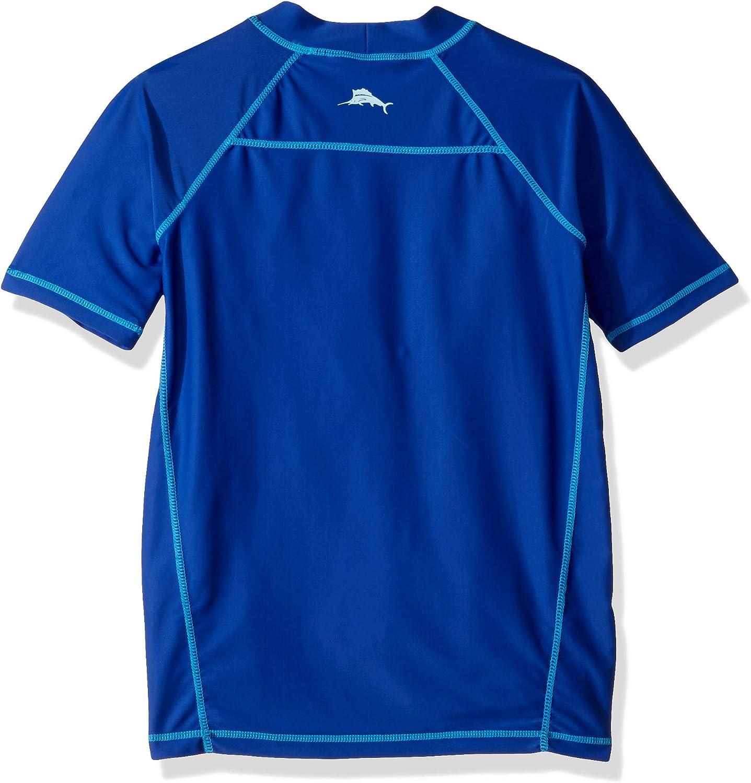 Tommy Bahama Jungen Uv Protection Swim Shirt Rashguard Rash Guard Hemd