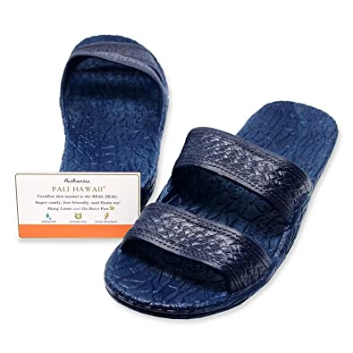b2f1586f7 Pali Hawaii Navy JANDAL + Certificate of Authenticity (6)