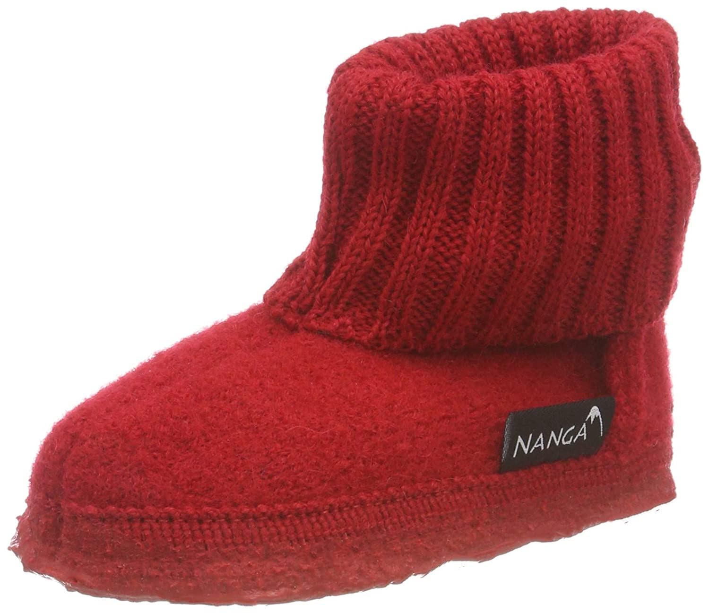c7a41065de Nanga Unisex Kids' Valley Hi-Top Slippers: Amazon.co.uk: Shoes & Bags