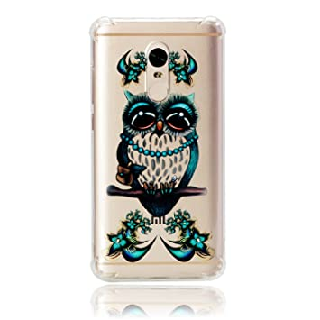 CoverTpu Funda para Xiaomi Redmi Note 4 Transparente ...