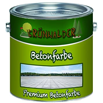 Grunwalder Betonfarbe Bodenfarbe Premium Fassadenfarbe Hoch