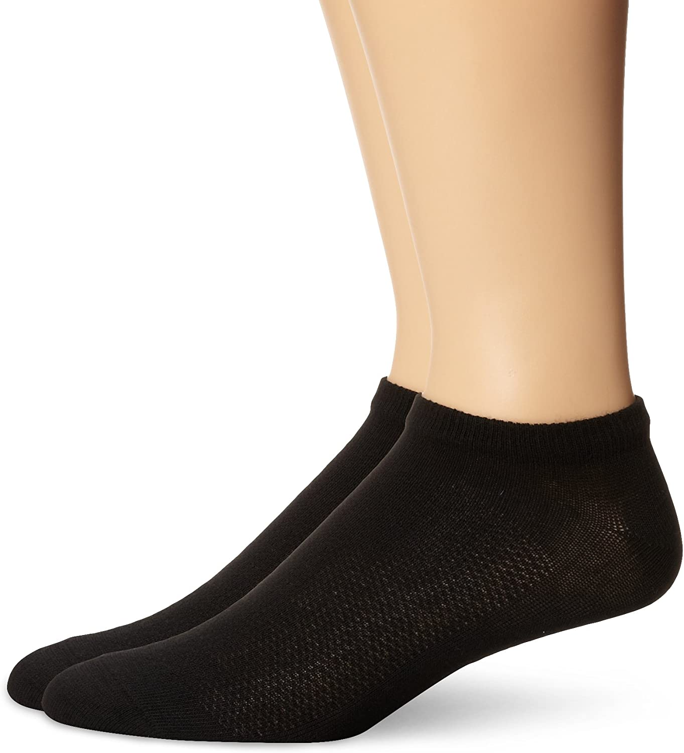Hanes Ankle Socks 6-Pack Men/'s X-Temp Comfort Cool FreshIQ Wicking Soft Smooth
