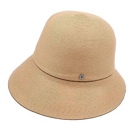 808baf953c6c9 YQXR Moda Sombreros Sombrero Japonés Pequeño Viaje Fresco y Simple Plegable  Pescador Sombrero Mujer de Primavera