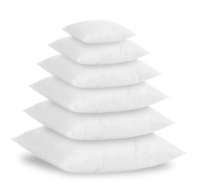 Textilhome - Pack 2 Relleno de Cojín 50x50cm / Poliéster 100% - Fibra Hueca siriconada de Gran Densidad.