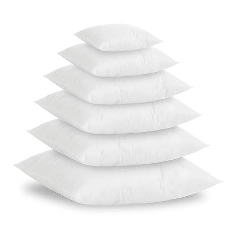 Textilhome - Pack 2 Relleno de Cojín 30X50cm / Poliéster 100% - Fibra Hueca siriconada de Gran Densidad.