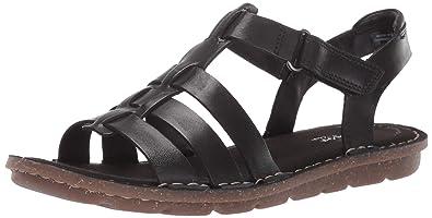 63d882baae99 CLARKS Women s Blake Jewel Sandal Black Leather 050 ...